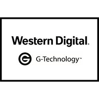 Western Digital、G-Technologyロゴ