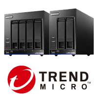LAN DISK X Trend Micro NAS Security プリインストールモデル