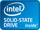 intel SOLID-STATE DRIVEロゴ