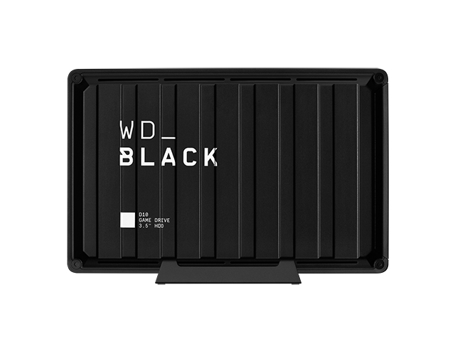 WD_Black D10 Game Drive 正面