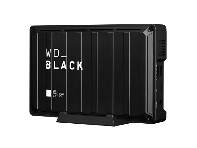 WD_Black D10 Game Drive 左振り斜め