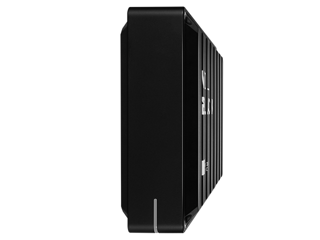 WD_Black D10 Game Drive 側面斜め