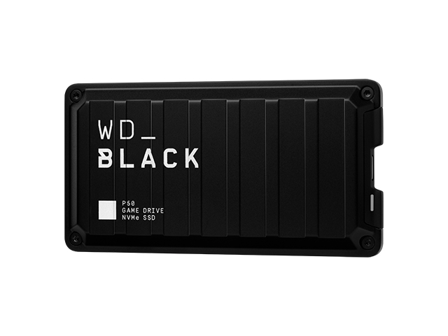 WD_Black P50 Game Drive SSD 左振り斜め